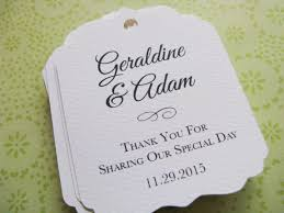 wedding gift tags wedding gift wedding favor gift tags trends of 2018 wedding