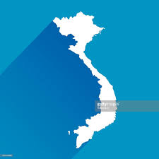 Map Icon Blue Vietnam Map Icon Vector Art Getty Images