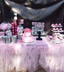 zebra print baby shower1 year birthday party locations coco chanel birthday party ideas chanel party birthdays and
