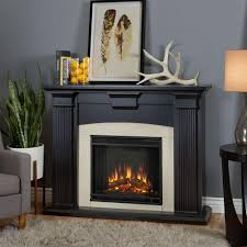 Indoor Gel Fireplace by Real Flame Adelaide 51 In Electric Fireplace In Blackwash 7920e