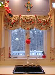 Christmas Kitchen Curtains by Kitchen Vineyard Macrame Curtains Valance Tiers Ivory Kitchen