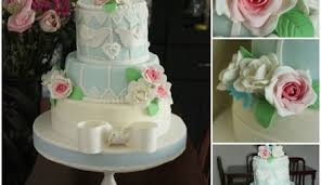 25th anniversary cake ganache icing under fondant w quilting