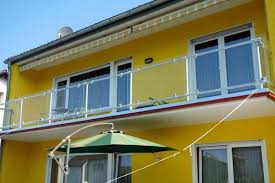 glass panel balcony railing simple elegant and safe