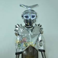 halloween costumes led lights compare prices on robotics dance costume online shopping buy low