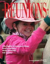 reunions magazine volume 20 number 2 november december january