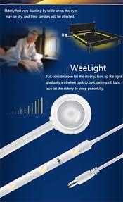 weelight kids bedroom led night light sensors automatically