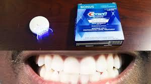 crest 3d white whitestrips with light teeth whitening kit how to whiten teeth easy auraglow led light crest 3d