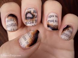 enotes blog u2014turn the page in style with literary nail art