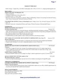 resume format sle best solutions of excellent resume format excellent resume sle sle