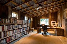 rustic home interior inspiring rustic home office designs to motivate you