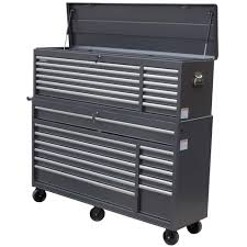 home depot tool cabinet wen 66 in 24 drawer tool chest and cabinet combo gray 77066 the