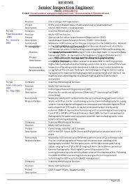 Ndt Technician Resume Example by Senior Inspection Engineer V Chandrasekhar Resume As On 01 12 2014