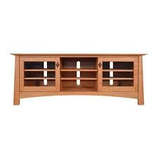 cherry corner media cabinet solid wood tv stands media consoles vermont woods studios