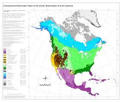 Map Of North America And Europe bioclimatic u0026 biogeographic maps