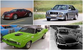 these are the 10 cars you must drive before you die