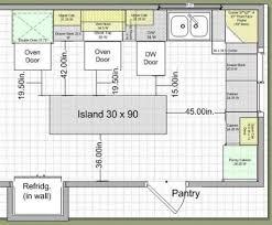 Kitchen Design Plan Kitchen Design Measurements Basic Kitchen Design Measurements