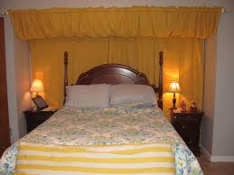 How To Use Curtain Tie Backs Bedrooms Cool Awesome Curtain Behind Headboard Led Light Strips