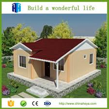 heya superior quality quick build small prefab modern houses