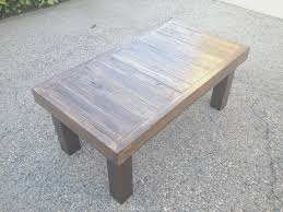 coffe table creative diy reclaimed wood coffee table on a budget