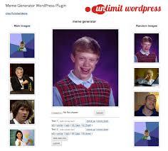 2 Picture Meme Generator - meme generator wordpress plugin by jordanbanafsheha codecanyon