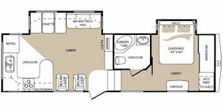 Montana Fifth Wheel Floor Plans 2009 Keystone Rv Mountaineer Fifth Wheel Series M 295 Rkd Specs