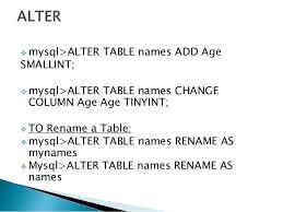 rename table name in sql alter table rename maison design edfos com