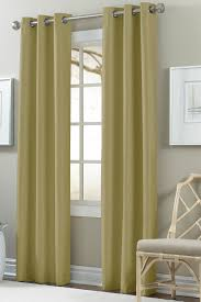 colonial home textiles textured blackout curtain set of 2