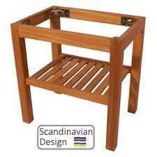 Teak Tables Teak Table Legs Folding For Use With Fixed Tables Teak Deck