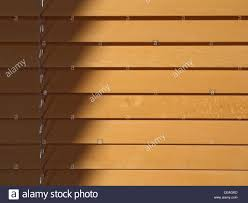 beechwood blinds in sunlight shadow and adjustment string on the