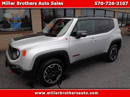 jeep renegade charcoal used cars for sale mill hall pa 17751 miller brothers auto sales