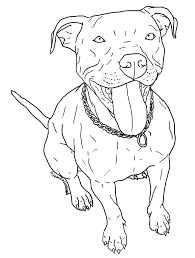 pitbull coloring pages nywestierescue com