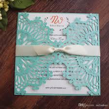 light blue wedding invitations elegant lace light blue wedding invitation cards country flower