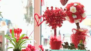 Shop Decoration For Valentine Day by Valentines Day Window Display Decoration In Florist Shop Red