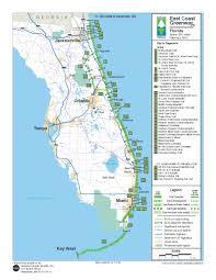 Orlando Urban Trail Map by Beaches Space Coast Transportation Planning Organization