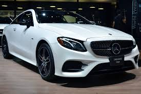 mercedes e class 2018 mercedes e class coupe drops two doors to stunning effect