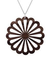 wooden necklaces wooden necklace ken black walnut wood huamet collection