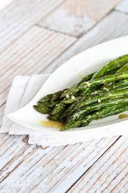 roasted asparagus recipe w dijon vinaigrette dressing cookin