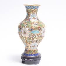 Antique Cloisonne Vases Vintage Decorative Vases Urns And Flower Pots Auction In Art