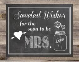 bridal shower signs instant bridal shower sign sweetest wishes wedding