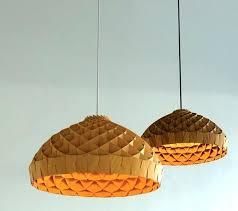 Pendant Light Shade Bamboo Pendant Light Nest Honeycomb Woven Bamboo Pendant L By