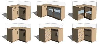Kitchen Corner Furniture Revit Interior Design U0026 Furniture Families Revit Family Revit