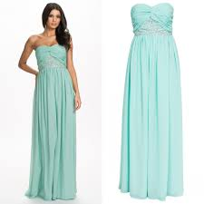 mint green evening dress picture more detailed picture about