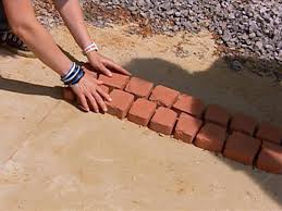 How To Make A Brick Patio by How To Install A Cobblestone Patio How Tos Diy