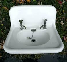 cast iron trough sink vintage cast iron bathroom sink sinks stunning cast iron farm sink