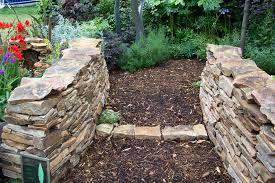 Patio Edging Options by Natural Stone Stone Garden Edging Ideas Design U0026 Installation