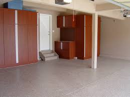 remodel large garage spaces design with epoxy floor tiles and remodel large garage spaces design with epoxy floor tiles and custom diy wood garage storage shelves with door and painted with brown color ideas