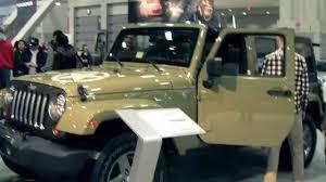jeep j8 military 2014 jeep wrangler army in 2013 washington dc auto show 2013 youtube