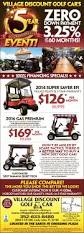 village discount golf car