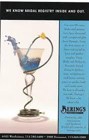 bridal reg celebrating 75 years of bering s bering s at home