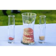 Sand Vases For Wedding Ceremony Precious Day Sand Ceremony Set Foreverwed Supply Co
